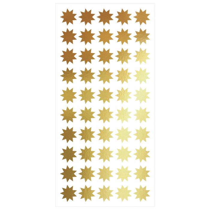 Sticker decupat, Stele, pentru interior, 50 bucati/set 0