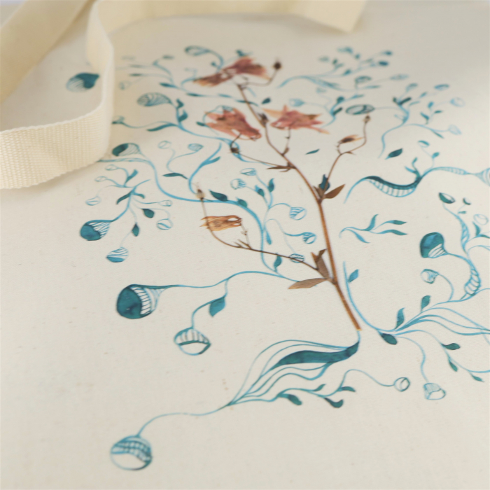 Traista bumbac Floarea Copac 1