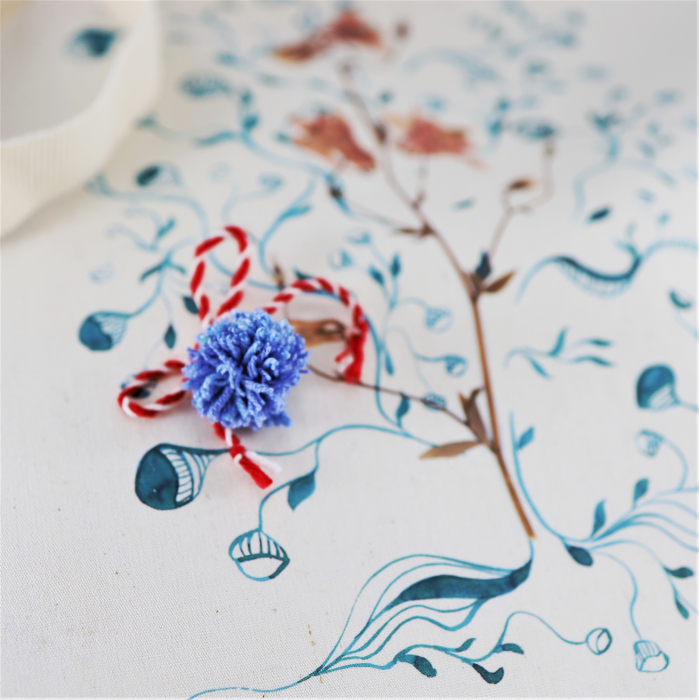 Traista bumbac Floarea Copac 3