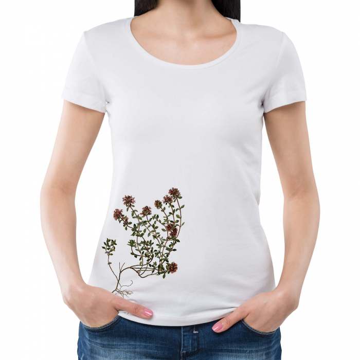 Tricou botanic Cimbrisor 1