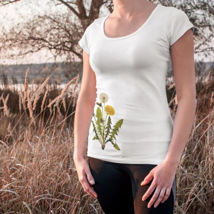 Tricou botanic Papadie 2