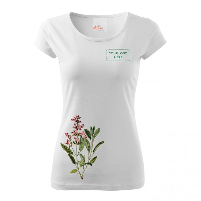 Tricou botanic Salvie 4