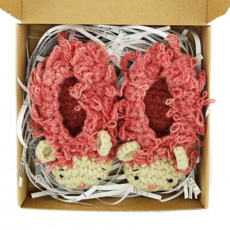 Papucei Oite, 100% lana romanesca1