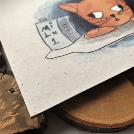 Art card, Pisica [3]
