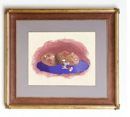 Art card, Soricel cu biscuiti [4]