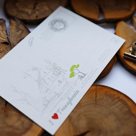 Carte postala model Biserica Ursulinelor, suvenir Sibiu [4]