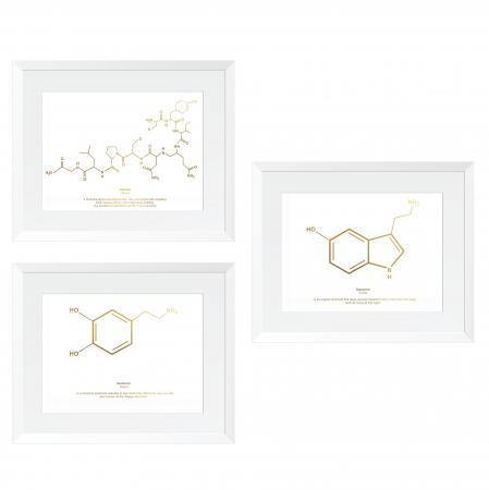 Formula Dragostei, set 3 tablouri, dimensiune 24x30cm/buc0