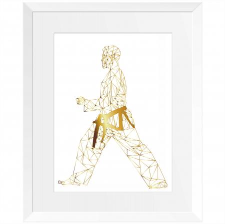 Arte Martiale, Taekwondo, Set 3 tablouri 24x30cm, cadou baiat3