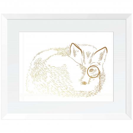 Animalele padurii, set 3 tablouri, Veverita, Vulpea si Iepurele, dimensiune 24x30cm/buc4