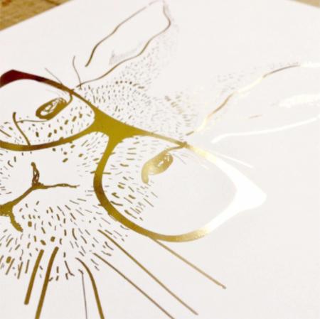 Animalele padurii, set 3 tablouri, Veverita, Vulpea si Iepurele, dimensiune 24x30cm/buc6