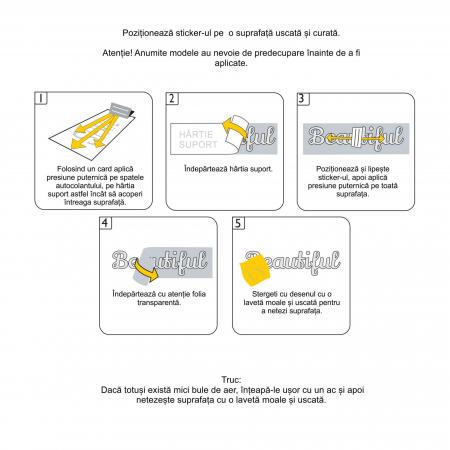 Sticker Auto Animal Rights, 15x15cm x 2 foi, rezistent la uzura [4]