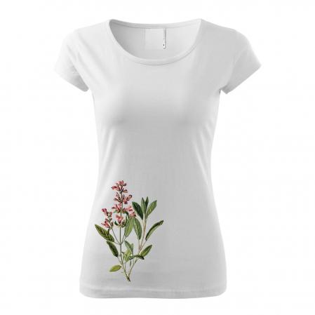 Tricou botanic Salvie0