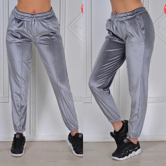 Pantaloni PUCKA - GRI [0]