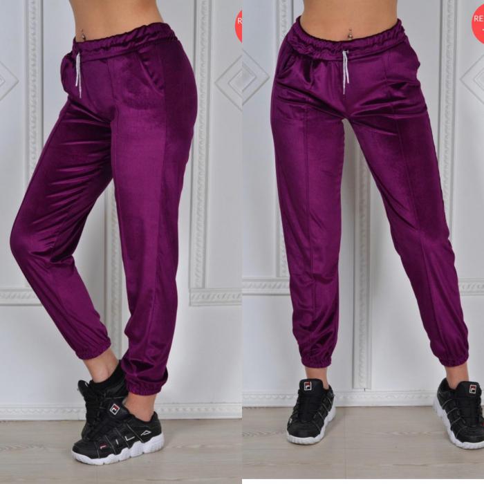 Pantaloni PUCKA - MOV [0]