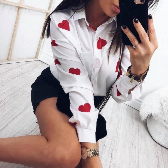 Bluza inimioare rosii [0]