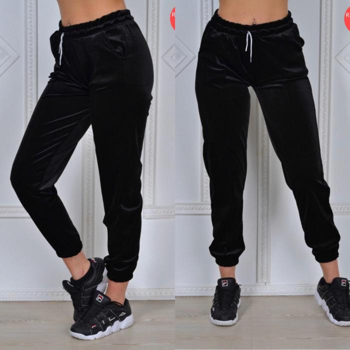 Pantaloni PUCKA - BLACK [0]
