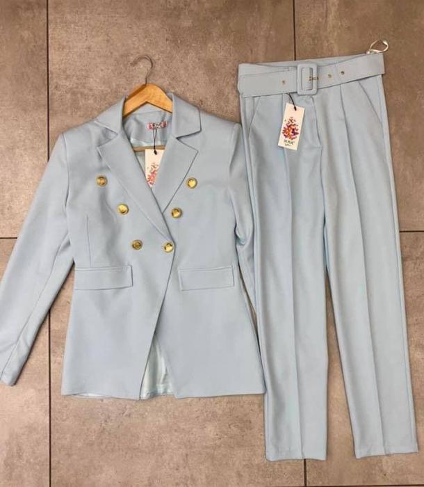 Costum ellegance - Baby blue [0]