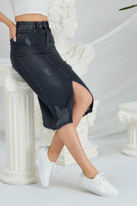 Fusta Jeans Black [0]