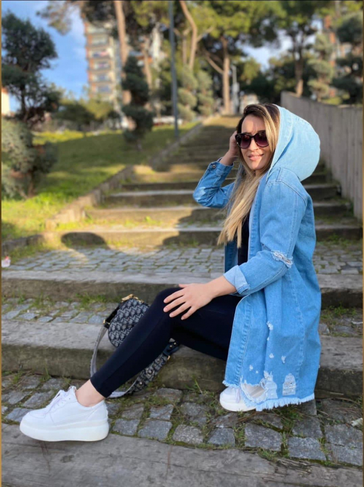 Jacheta Jeans Mimi - Albastru [0]
