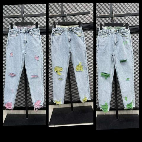 Jeans neon - Albastru [0]