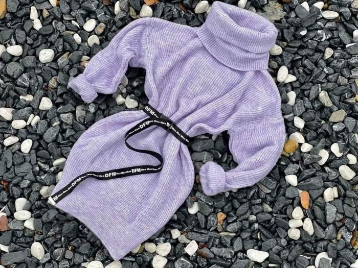 Rochie-pulover MELISSA- LILA 0