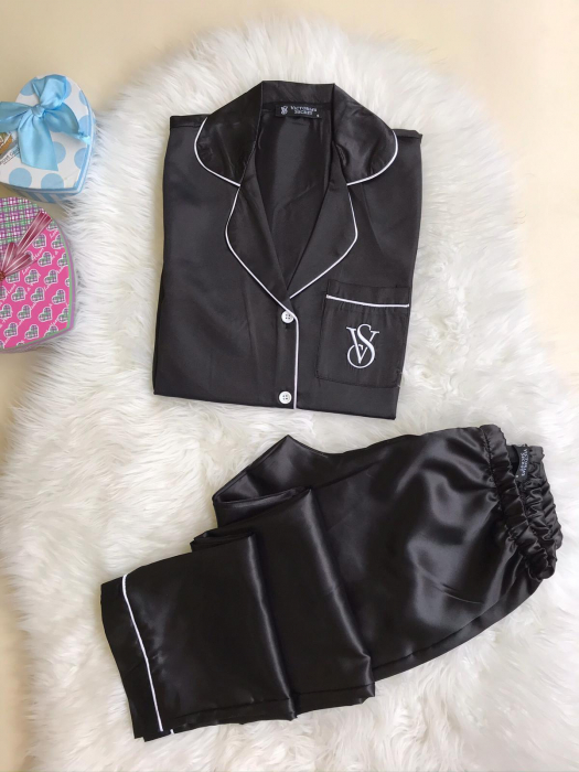 Pijama Luxury - BLACK 0