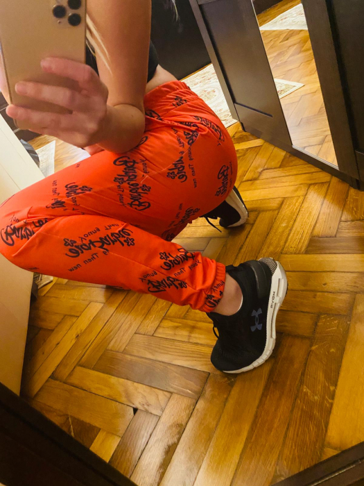 Pantaloni portocaliu BARBYE 2