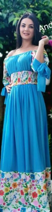 Rochie albastra JOANNA 0