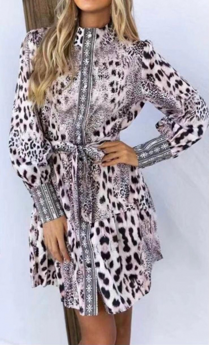 Rochie Dennise Leopard [0]