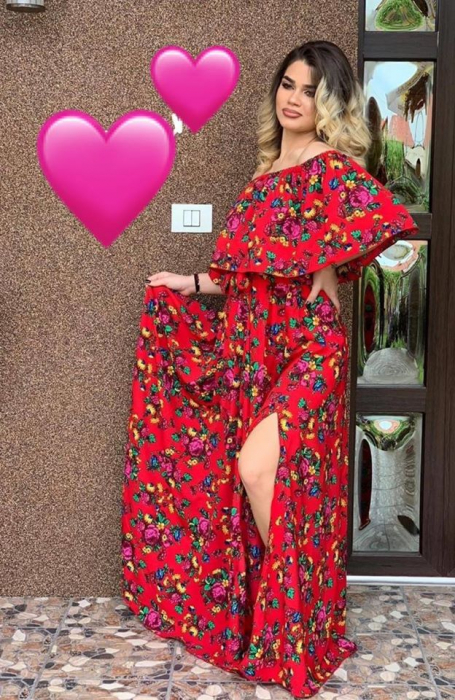 Rochie FLOWERS 1