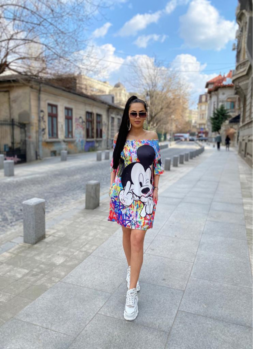 Rochie Mickey - Multicolor 0