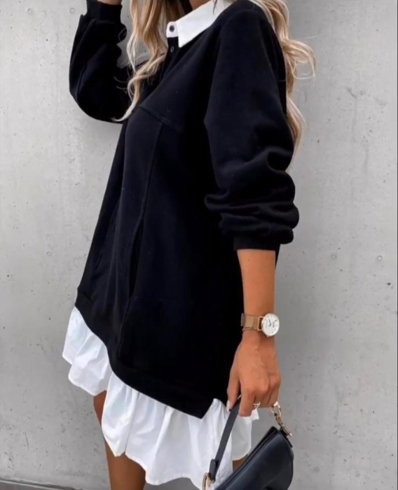 Rochie neagra ANNA 1