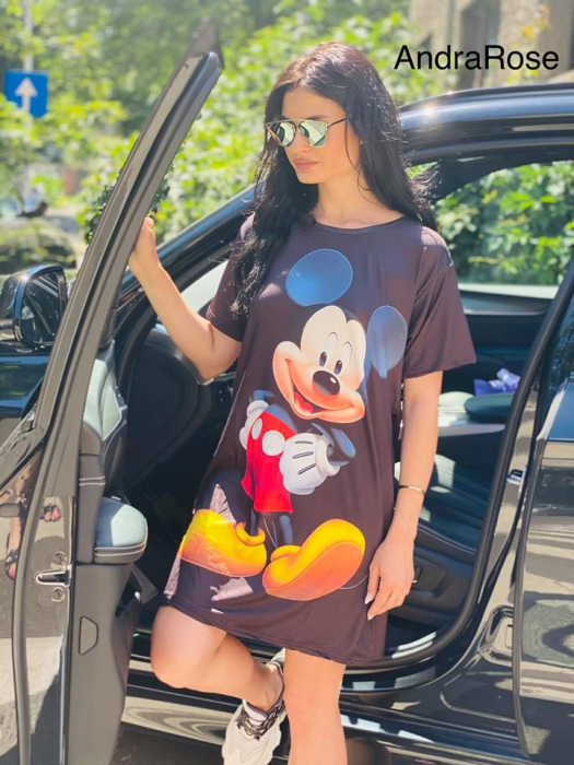 Rochie neagra Mickey Mouse [0]
