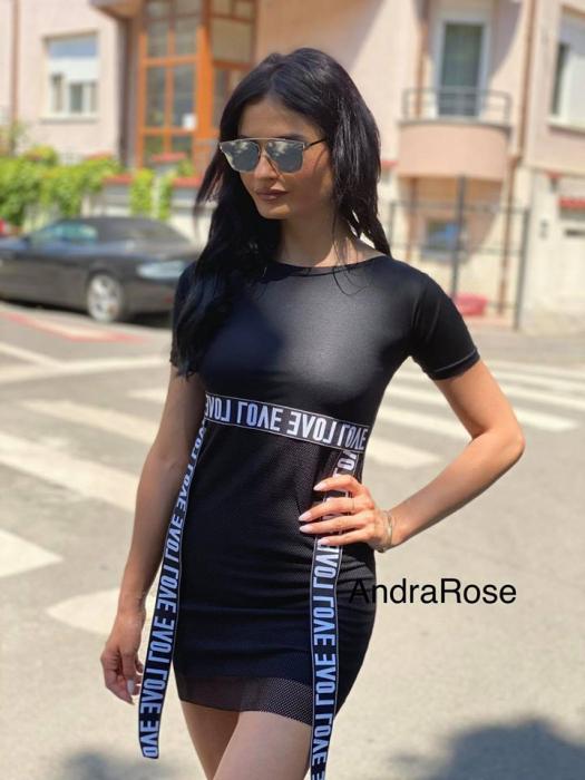Rochie plasa LOVE 0