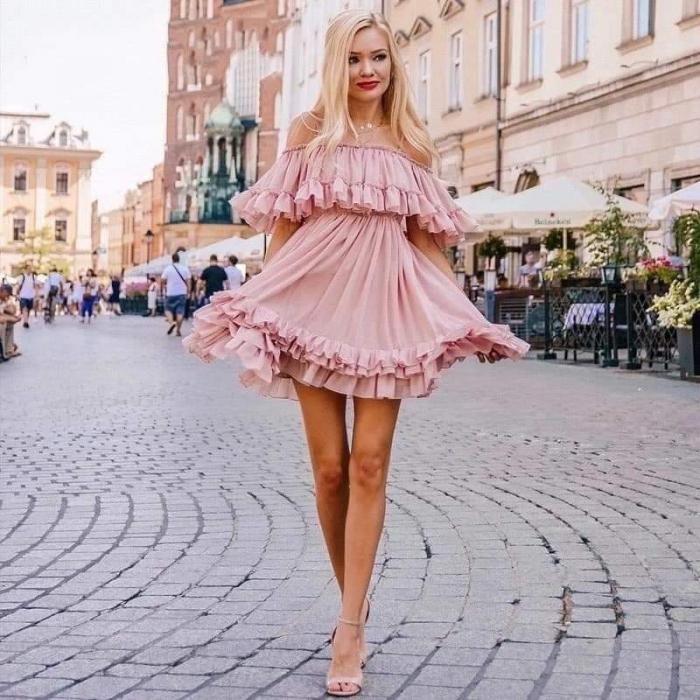 Rochie roz pal MARCY [1]