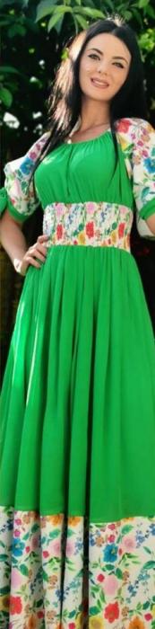 Rochie verde JOANNA 0