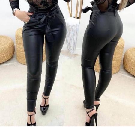 Pantaloni - piele funda [1]