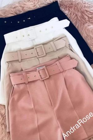 Pantaloni Scurti Albi1