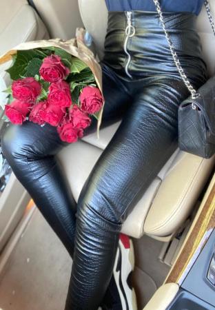 Pantaloni din piele - SNAKE1