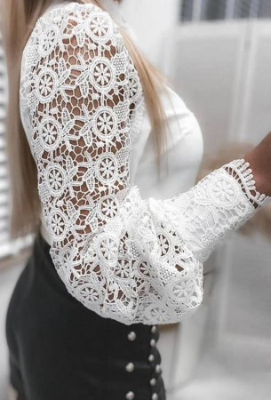 Bluza bride AVA - ALB [1]