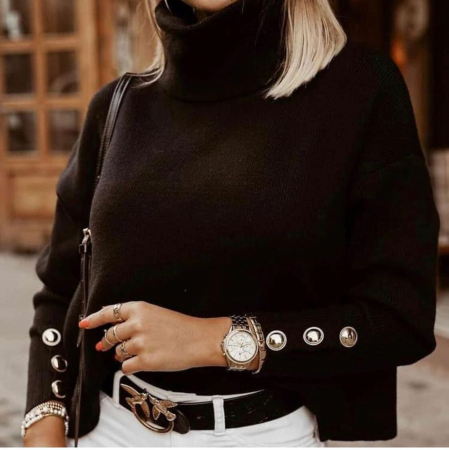 Bluza neagra BIA0