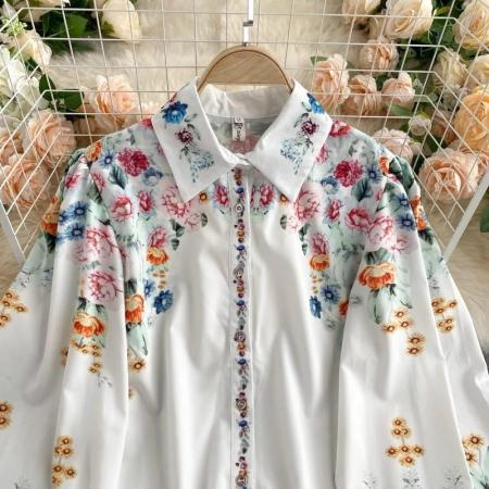 Camasa Flowers - WHITE0