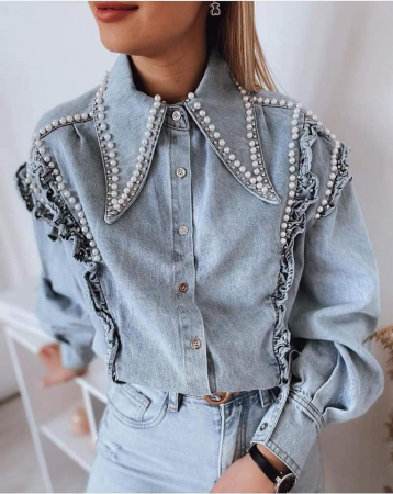 Camasa Jeans - Albastru [1]