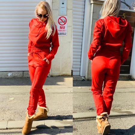 Compleu velvet Red1