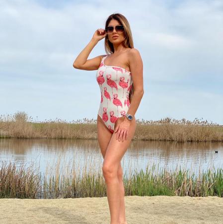 Costum de baie Bianca - Flamingo0