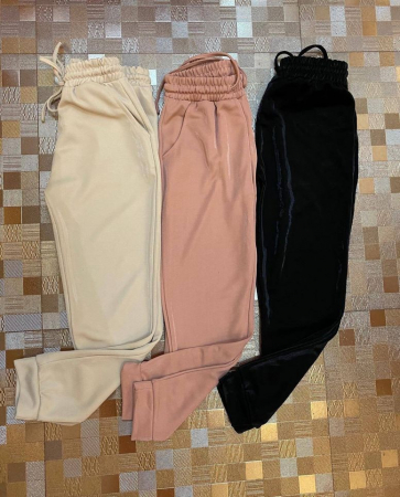 Pantaloni bej SPARKLY2