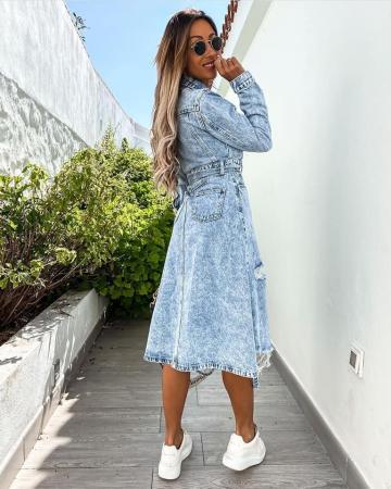 Rochie Jeans BLUE2