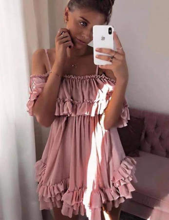 Rochie roz pal MARCY [2]