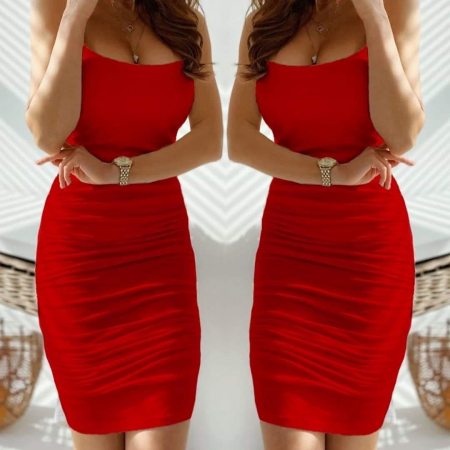 Rochie skinny RED0