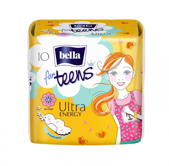 Absorbante Bella For Teens Ultra Energy 10 buc. [0]